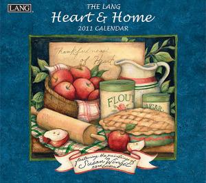 2011年ラング社カレンダー ハート&ホーム