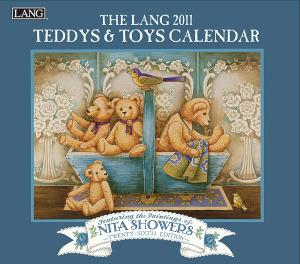 2011年ラング社カレンダー テディ&トイズ