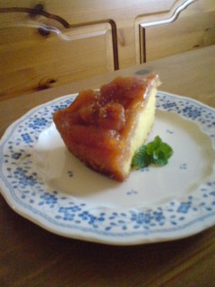 私も作ったいちじくケーキ2