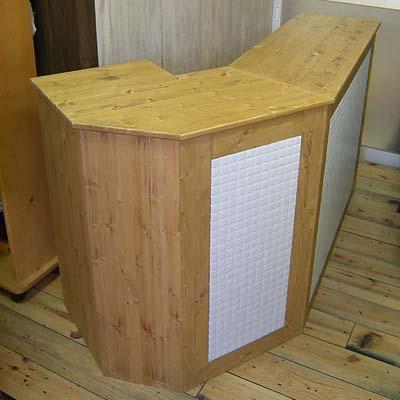 リトルパインのオーダーカウンター 業務用ドッグレッグカウンター