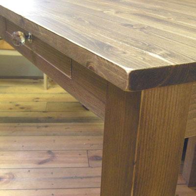 リトルパインのナチュラル家具 アンティークダイニングテーブル