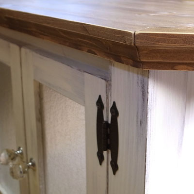 リトルパインのオーダー家具 コーナーテレビボード