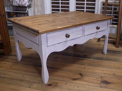 リトルパインのオーダー家具 アンティークローテーブル