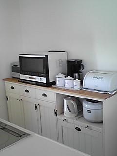 リトルパインのオーダー家具 ナチュラルカウンター