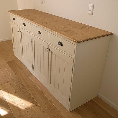 リトルパインの手作り家具 ナチュラルカウンター