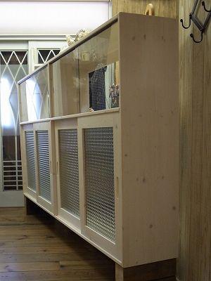 リトルパインの手作り家具 ナチュラルハンギングキャビネット