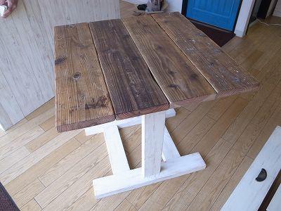 パン屋さんの什器 センターテーブル
