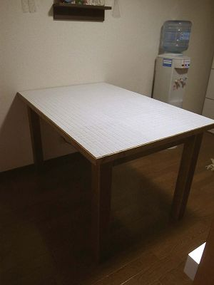 オーダー家具 オールタイルトップダイニングテーブル