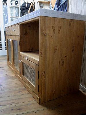 オーダー家具 オールタイルトップカウンター