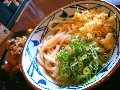 丸亀製麺 肉盛りうどん