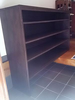 リトルパインのオーダー家具 エントランスシェルフ