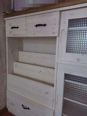 リトルパインのオーダー家具 カウンター下収納