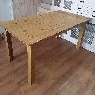 リトルパインのオーダー家具 エクステンションダイニングテーブル